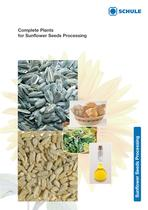 Complete Plants for Sunflower Seeds Processing