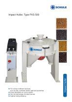 Impact Huller, Type FKS 500 - 1