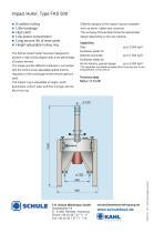 Impact Huller, Type FKS 500 - 2