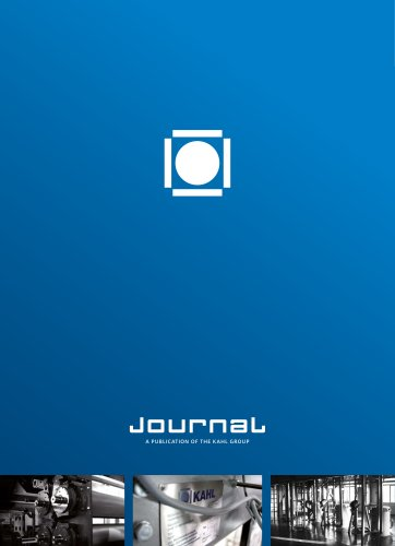 Journal – Current development of the KAHL Group