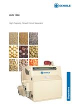 Sorting Machines: High-Capacity Closed Circuit Separator HUS 1260 - 1