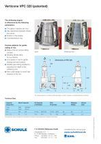 VERTICONE VPC 320 (patented) - 2