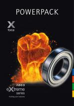 Xforce: bearings for high load usage