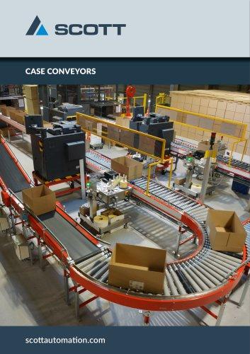 Case conveyors