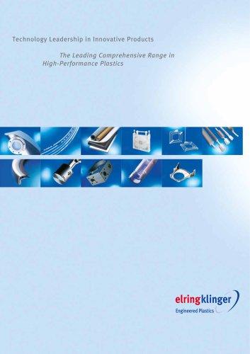Product range ElringKlinger Engineered Plasstics
