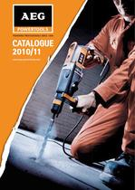 AEG POWERTOOLS Catalogue 2010/11