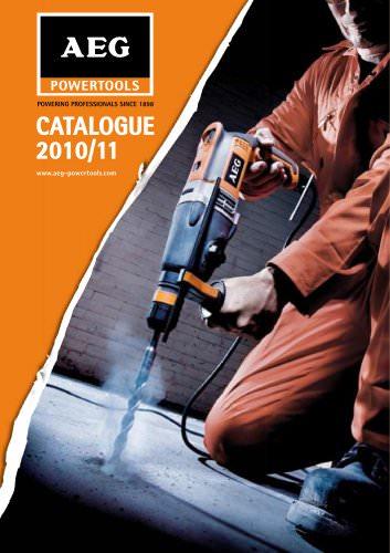 AEG POWERTOOLS Catalogue 2010/11