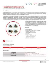 M2 SERIES THERMOSTATS - 1