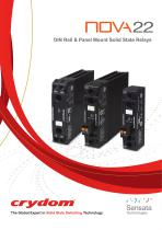 NOVA22 DIN Rail & Panel Mount Solid State Relays
