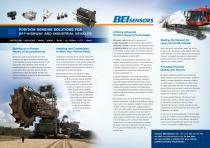 Position Sensing Solutions for Off-Highway and Industrial Vehicles Brochure - 2