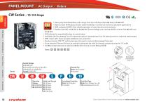 Solid State Relays & Contactors - 12