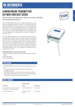 CDT-MOD Duct CO2 transmitter for duct with Modbus
