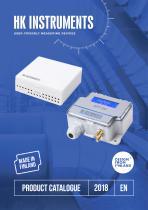 HK Instruments Product Catalogue 2018
