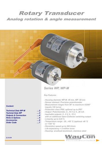 Analog Rotary Sensor WP