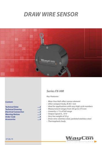 Draw Wire Sensor FX-HM