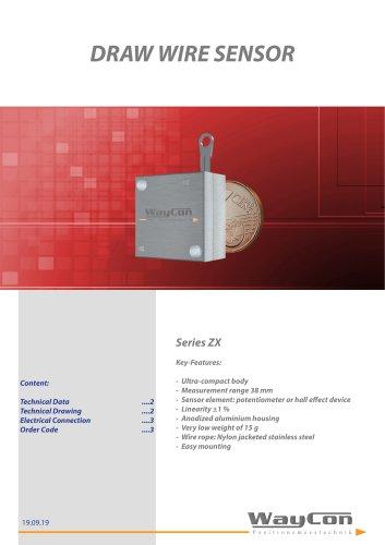 Draw Wire Sensor ZX
