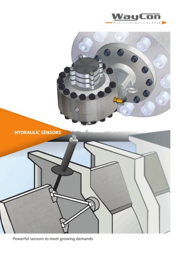 Hydraulic sensors