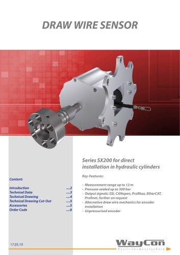 Hydraulic Transducer SX200