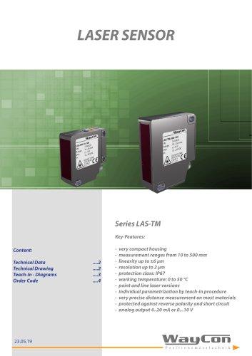 Laser Displacement Transducer LAS-TM