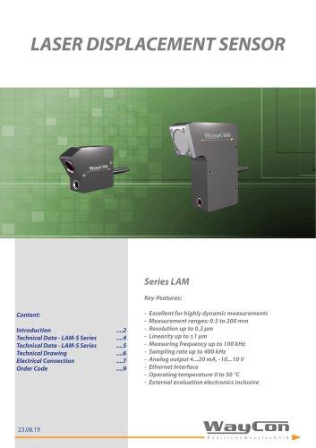 Laser Sensor LAM