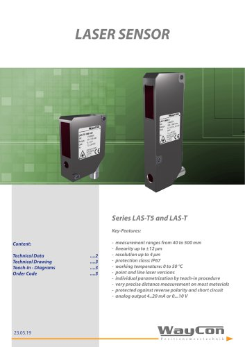 Laser Sensor LAS-T5
