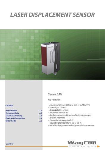 Laser Sensor LAV