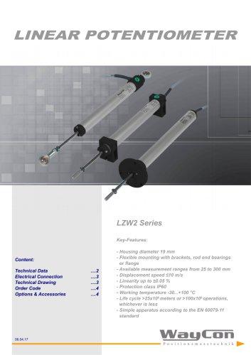 Linear Potentiometer LZW2