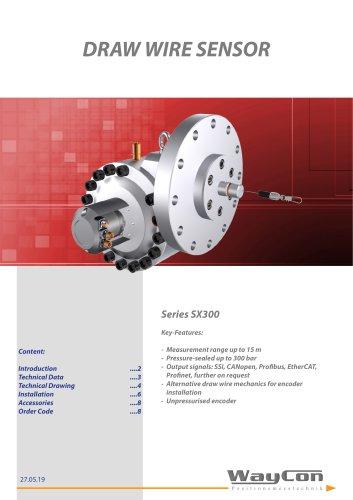 SX300 Hydraulic transducer