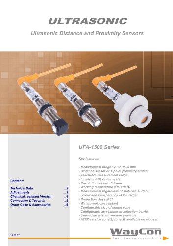 Ultrasonic Distance Sensor UFA-1500