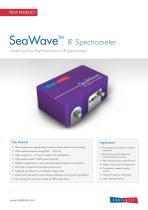 SeaWave IR Spectrometer Datasheet