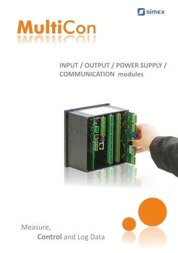MultiCon modules catalogue V1.13.043