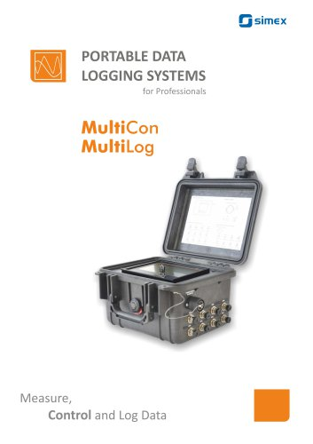 Portable data logging system brochure