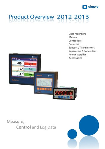 SIMEX Product Overview 2012