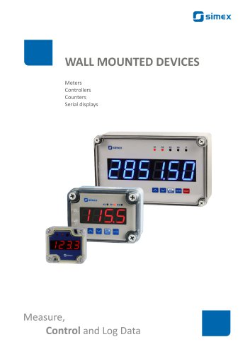Wall mounted devices brochure