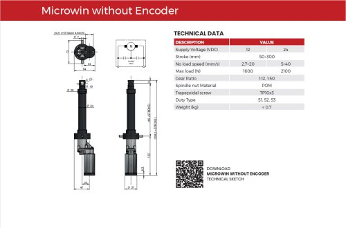 Microwin without encoder