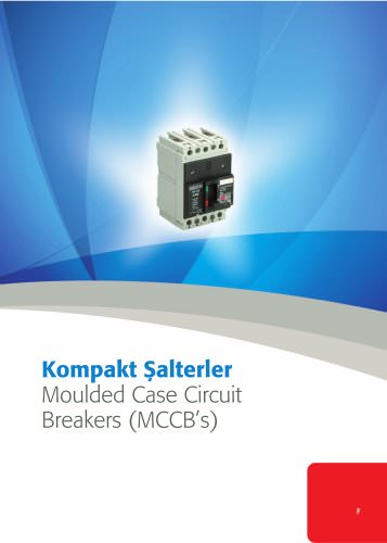 Moulded Case Circuit Breakers (MCCB's)