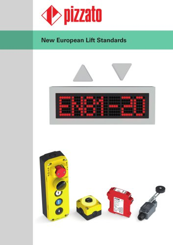 New European lift standards EN 81-20, EN 81-50