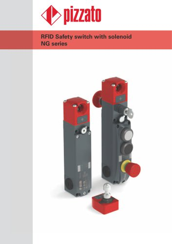 NG series safety switches with integrated buttons