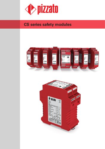 Safety modules CS series