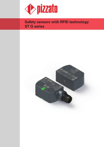ST G series new safety sensors with RFID technology