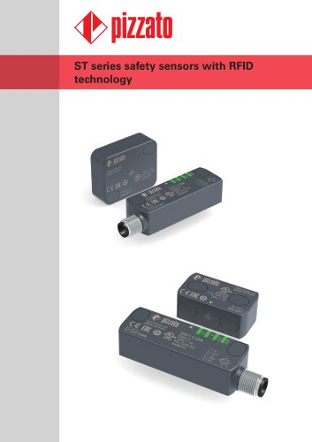 ST series safety sensors with RFID technology