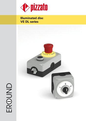 VE DL series illuminated disc