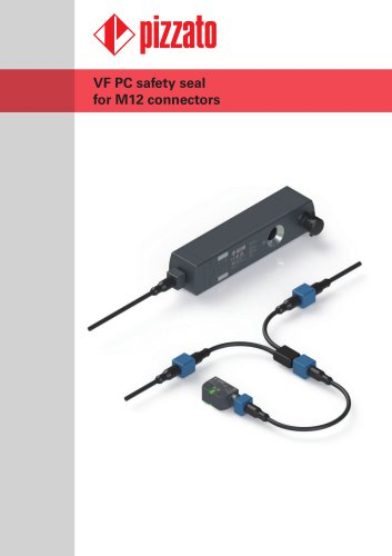 VF PC safety seals for M12 connectors