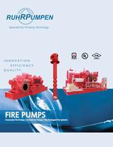 Horizontal Fire Pumps / Vertical Fire Pumps / Pre-Packaged Fire Systems