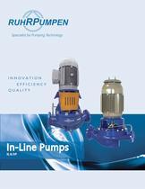 IVP In-line Vertical Pumps (Split Coupled)