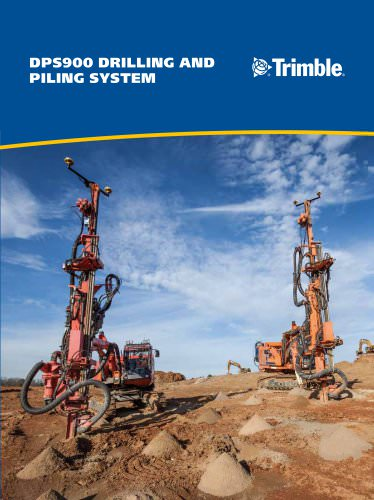 DPS900 Drilling and pilling system
