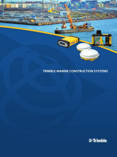 MARINE CONSTRUCTION RECEIVERS AND SENSORS