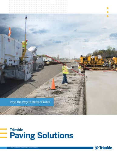 Paving Solutions Brochure
