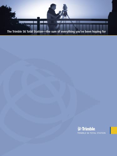 Trimble S6 - English