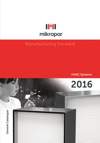 Atmospheric Air Filtration Catalogue